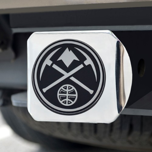 NBA - Denver Nuggets Chrome Hitch Cover 4 1/2