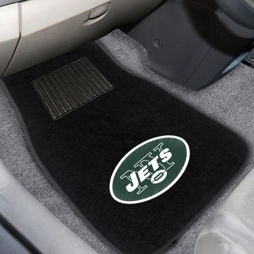 NFL - New York Jets 2-pc Embroidered Car Mats 18
