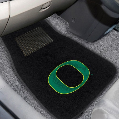 Oregon 2-pc Embroidered Car Mats 18