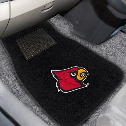 Louisville 2-pc Embroidered Car Mats 18