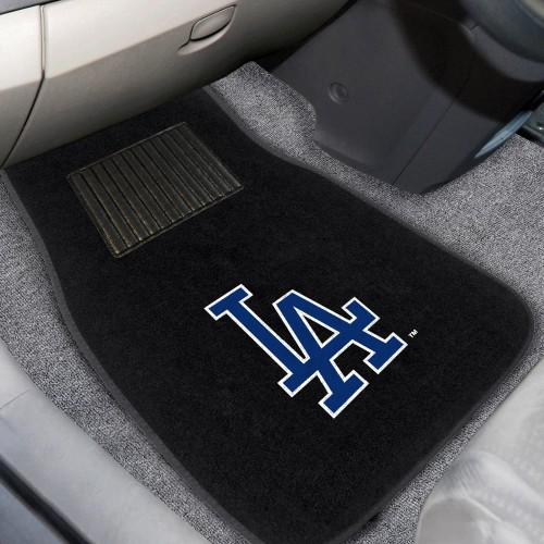 MLB - Los Angeles Dodgers 2-pc Embroidered Car Mats 18