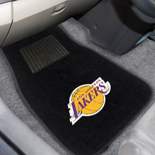NBA - Los Angeles Lakers 2-pc Embroidered Car Mats 18