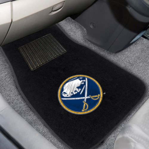 NHL - Buffalo Sabres 2-pc Embroidered Car Mats 18