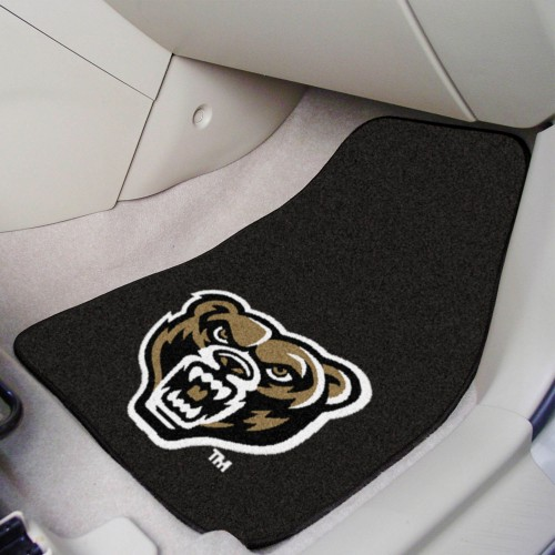 Oakland 2-pc Carpeted Car Mats 17