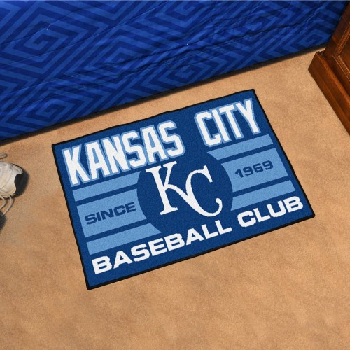 Kansas City Royals Baseball Club Starter Rug 19