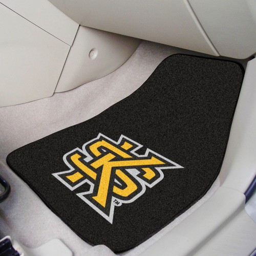 Kennesaw State 2-pc Carpeted Car Mats 17