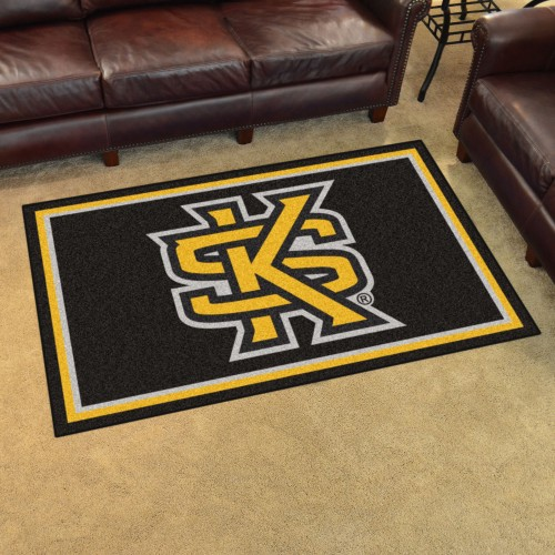 Kennesaw State 4'x6' Rug