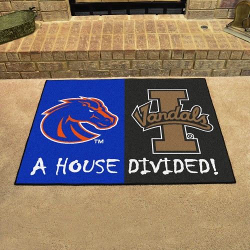 Boise State - Idaho House Divided Rug 33.75