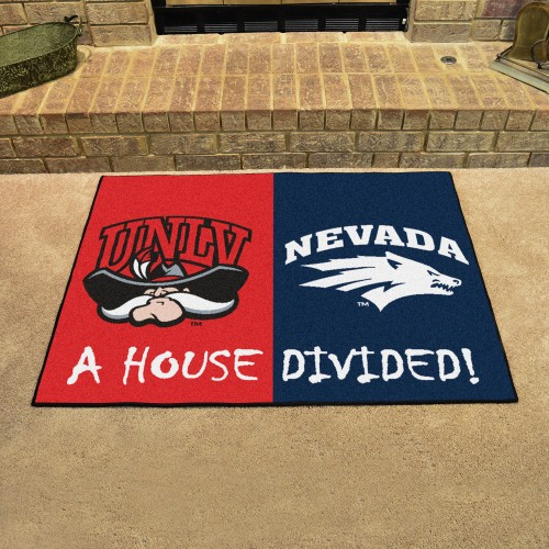 UNLV - Nevada House Divided Rug 33.75