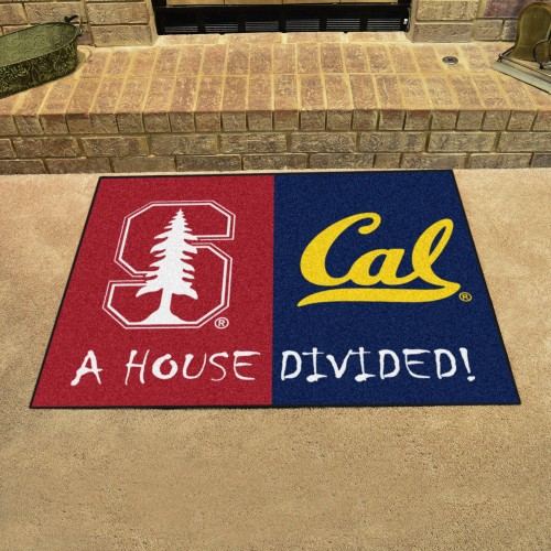 Stanford - Cal House Divided Rug 33.75