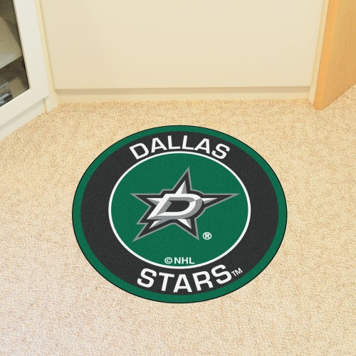 NHL - Dallas Stars Roundel Mat 27