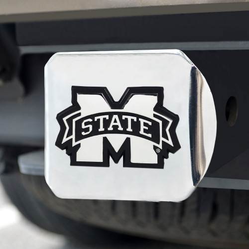 Mississippi State Chrome Hitch Cover 4 1/2