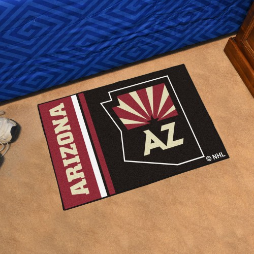Arizona Coyotes Uniform Starter Rug 19