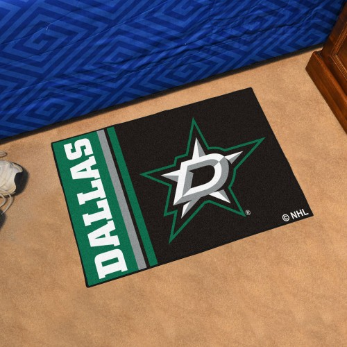 Dallas Stars Uniform Starter Rug 19