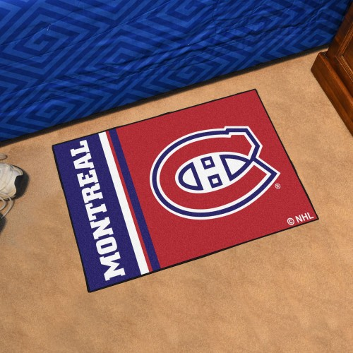 Montreal Canadiens Uniform Starter Rug 19