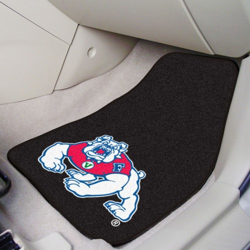 Fresno State 2-pc Carpeted Car Mats 17