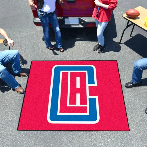 NBA - Los Angeles Clippers Tailgater Rug 5'x6'