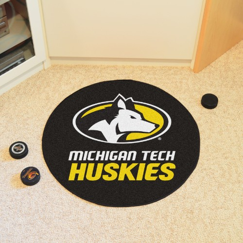Michigan Tech Puck Mat 27