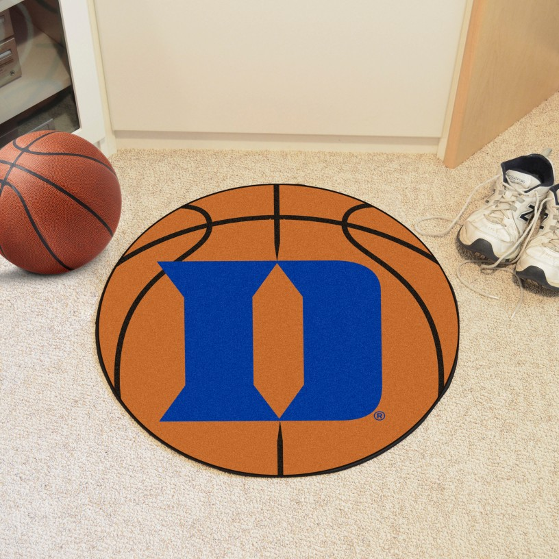 Duke 'D' Basketball Mat 27