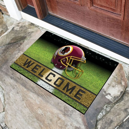 "NFL - Washington Football 18""x30"" Crumb RubberDoor Mat"