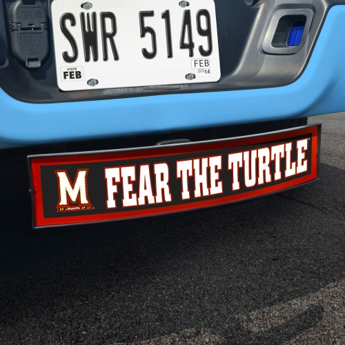 Maryland Fear the Turtle Light Up Hitch Cover 21