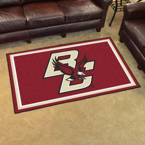 Boston College 4'x6' Rug