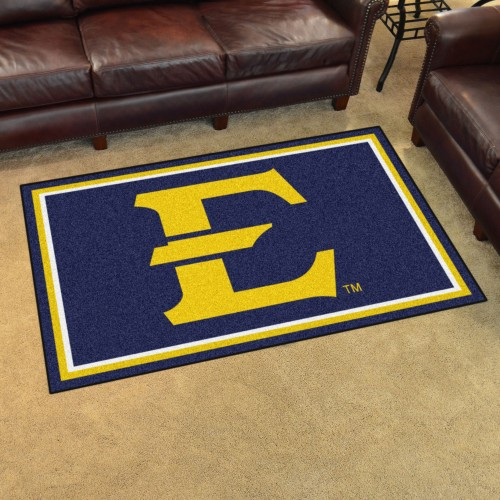 East Tennessee State 4'x6' Rug