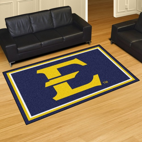 East Tennessee State 5'x8' Rug