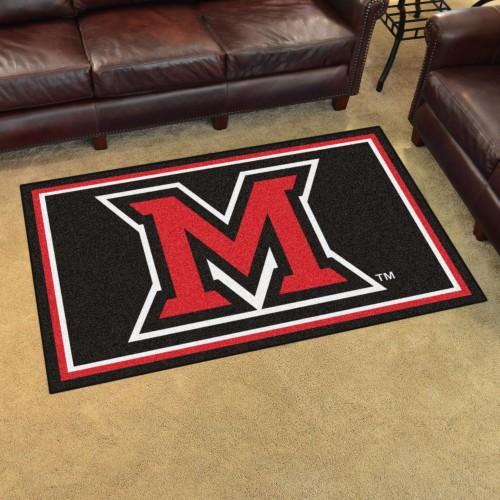 Miami (OH) 4'x6' Rug