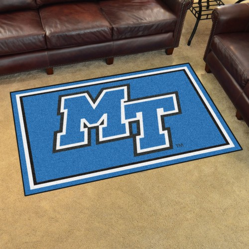 Middle Tennessee State 4'x6' Rug