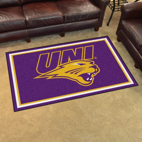 Northern Iowa 4'x6' Rug