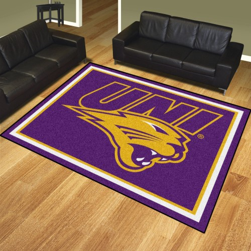 Northern Iowa 8'x10' Rug