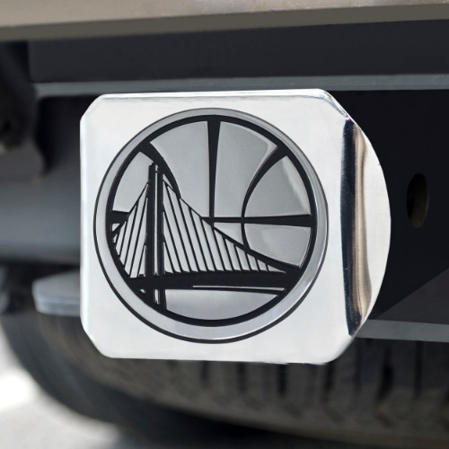 NBA - Golden State Warriors Chrome Hitch Cover 4 1/2