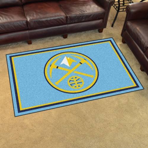 NBA - Denver Nuggets 4'x6' Rug