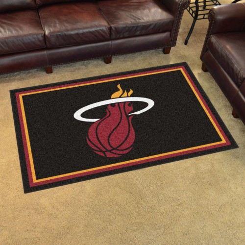 NBA - Miami Heat 4'x6' Rug
