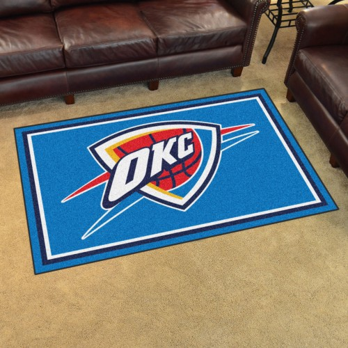 NBA - Oklahoma City Thunder 4'x6' Rug