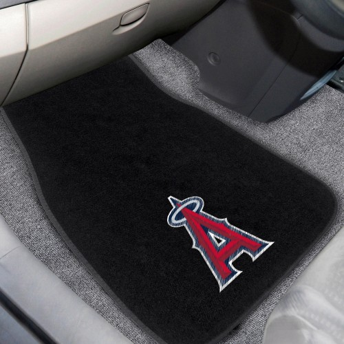 MLB - Los Angeles Angels 2-pc Embroidered Car Mats 18