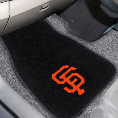 MLB - San Francisco Giants 2-pc Embroidered Car Mats 18