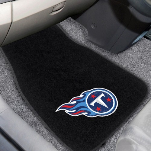 NFL - Tennessee Titans 2-pc Embroidered Car Mats 18