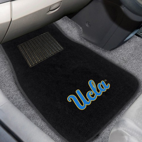 UCLA 2-pc Embroidered Car Mat 17