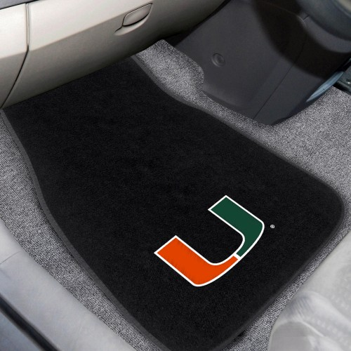 Miami 2-pc Embroidered Car Mats 18