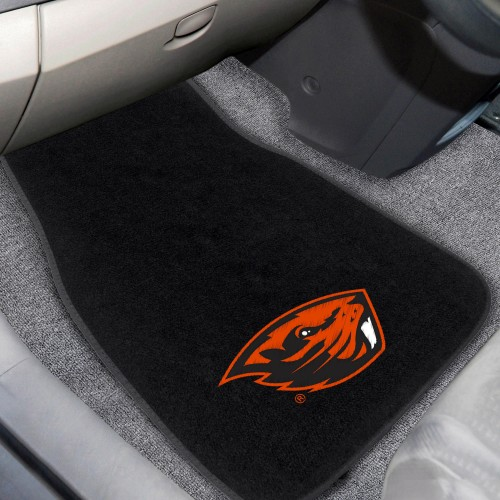 Oregon State 2-pc Embroidered Car Mats 18