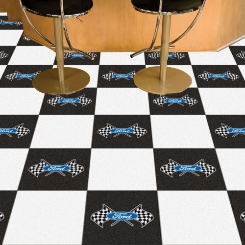 Ford - Ford Flags Carpet Tiles 18