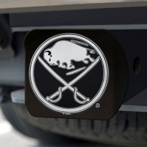 NHL - Buffalo Sabres Black Hitch Cover 4 1/2