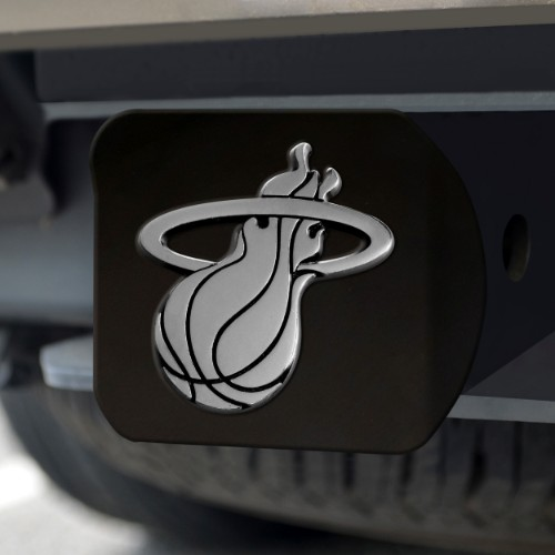 NBA - Miami Heat Black Hitch Cover 4 1/2