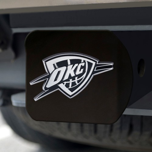 NBA - Oklahoma City Thunder Black Hitch Cover 4 1/2