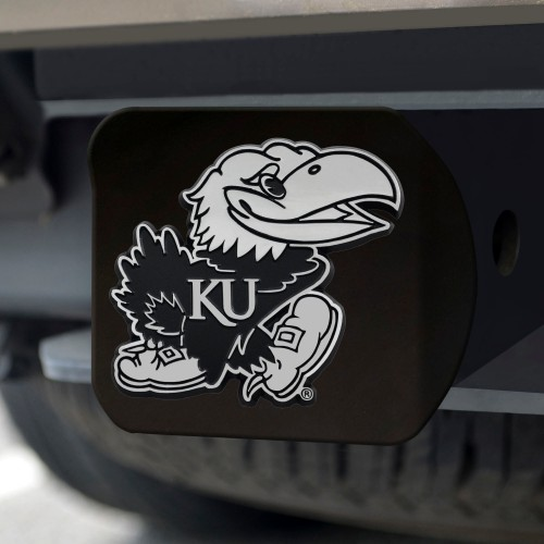 Kansas Black Hitch Cover 4 1/2