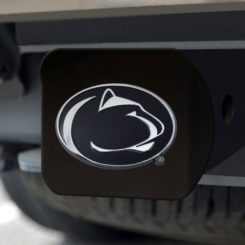 Penn State Black Hitch Cover 4 1/2