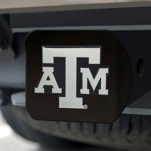 Texas A&M Black Hitch Cover 4 1/2