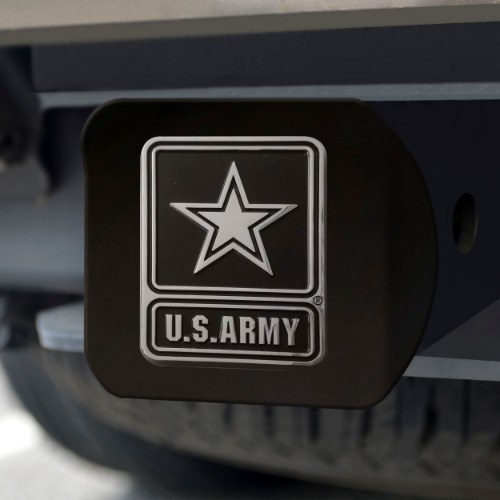 Army Black Hitch Cover 4 1/2